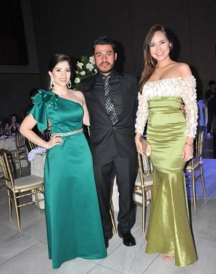 Andrea Cruz, Pedro Rocas y Alejandra Mendoza
