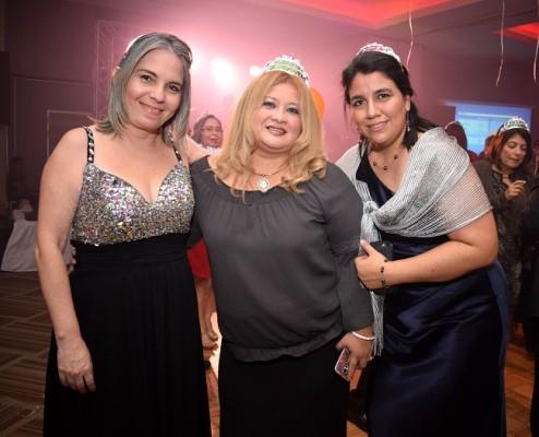 Beatriz Brito, Nora Ventura y Carla Gómez