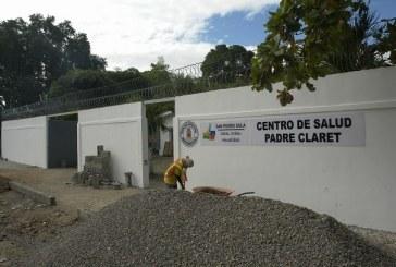 Mejoran centro de salud Padre Claret en el distrito Rivera Hernández