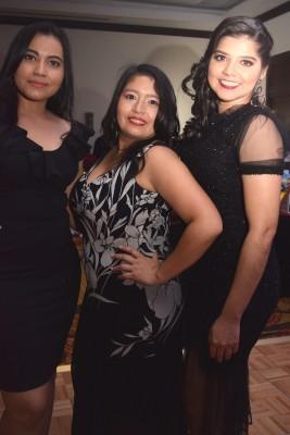 Clarissa Hernández, Judith Solano y Ana Rodríguez