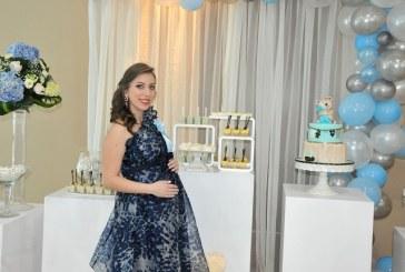 Celebran encantador baby shower para recibir al bebé Canahuati-Bandack