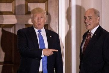 Despide Trump a su jefe de gabinete John Kelly, después de más de un año de roces