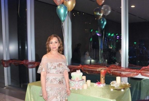 Zoila Santos protagoniza una grata velada por su cumpleaños