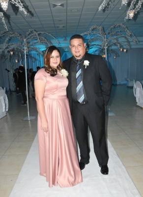 Los padrinos de boda, Alejandra Martínez de Bueso y Darío Bueso