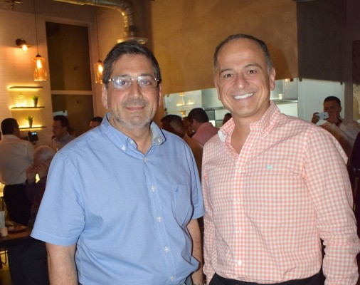 Mario Kafati y Jason Hawitt