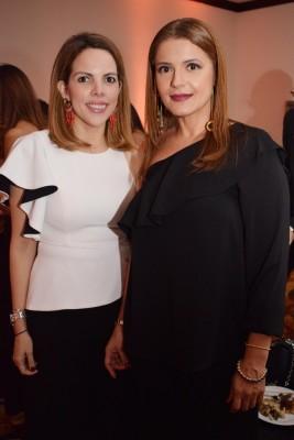 Cristiana Lacayo con Mery Irías