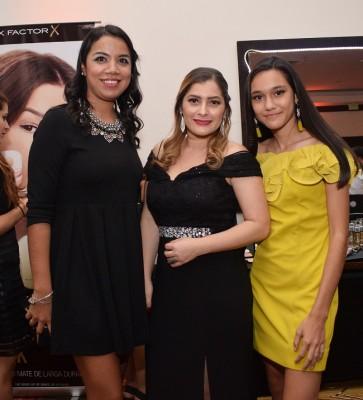 Ana Eguigure, Wendy Orellana y Ilana Sucrovich