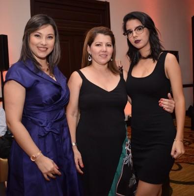 Wendy Ventura, Patricia de Campagnola y Francesca Campagnola