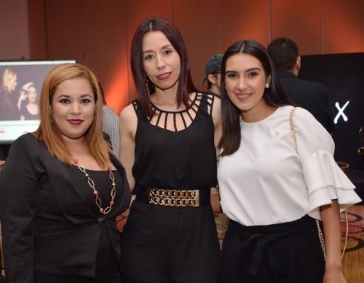 Laura Morales, Lizeth Ordoñez y Katherin Cardona