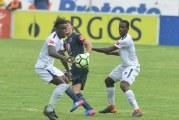 Motagua venció al Olimpia por 2-0 en el primer partido de la final con goles de Rubilio Castillo y Roberto Moreira