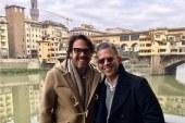 La escapadita romántica de Rodner Figueroa y su novio por Europa