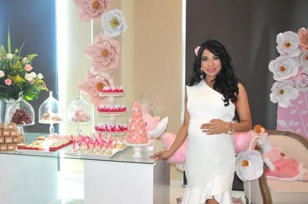 Sarahy Sánchez espera a Isabella Victoria para la segunda semana de febrero próximo