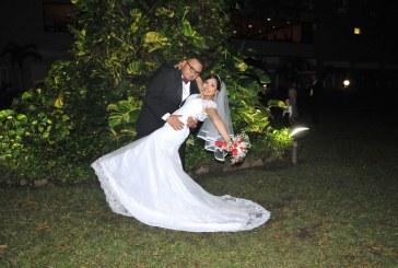 Construyendo memorias en la boda de Rudy y Sharon