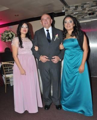 Sindy Paola Gavarrete, Melvin Gavarrete y Arely Gavarrete
