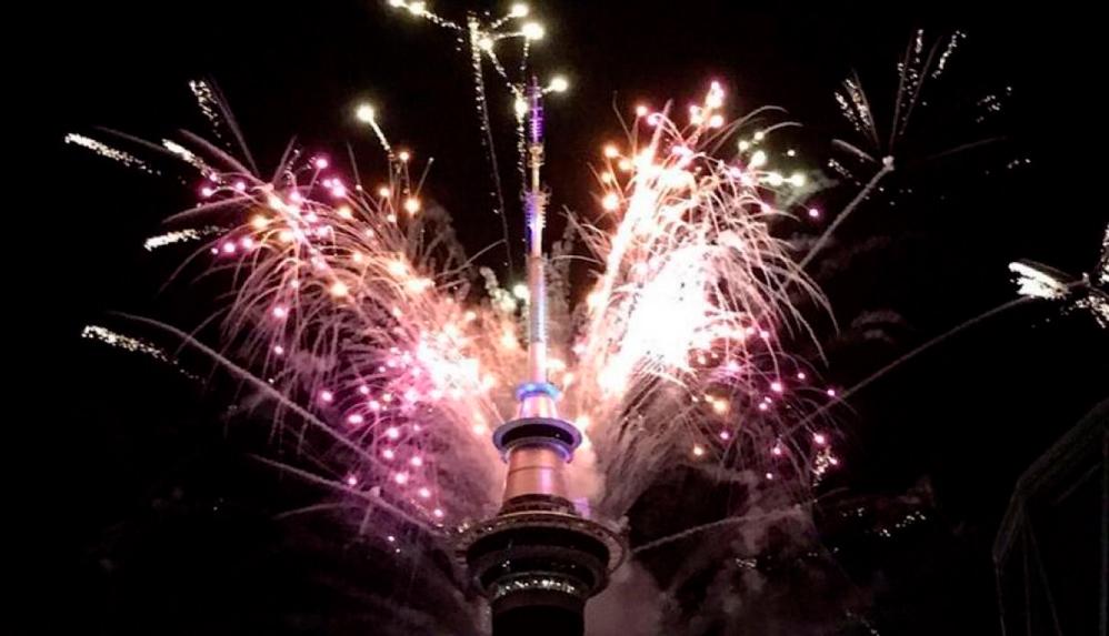 Así comienza a celebrar el mundo la bienvenida del Año 2019 (+fotos y videos)