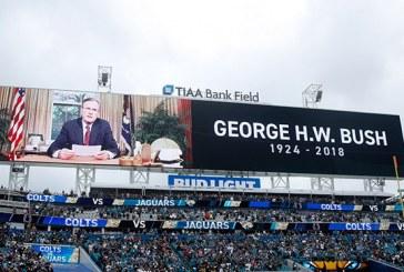 Inician en EEUU ceremonias en honor al expresidente George H.W. Bush