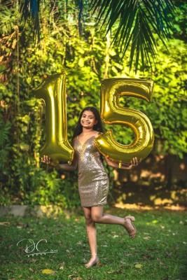 Aunque Daniela nació en Norteamérica, apostó por celebrar sus XV años en la tierra natal de sus padres.