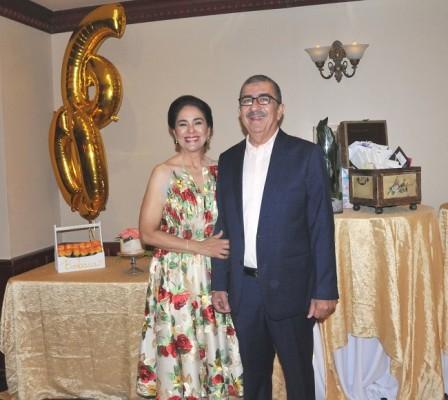 Bárbara Hernández de Quintana y Amilcar Bennett
