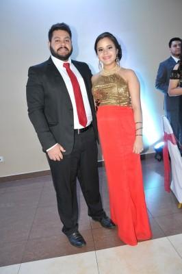 César Pineda y Gabriela Menéndez