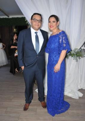 Carlos Peña y Lilian Alvarado