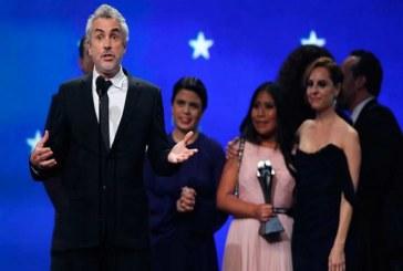 'Roma' la cinta mexicana gana a Mejor Película en Critics' Choice Awards 2019
