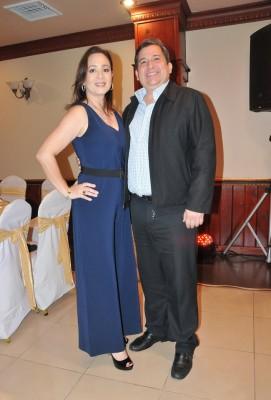 Emma Robelo y Gustavo Robelo