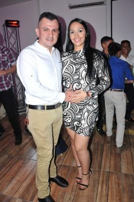 Erick Lagos y Michelle Benítez