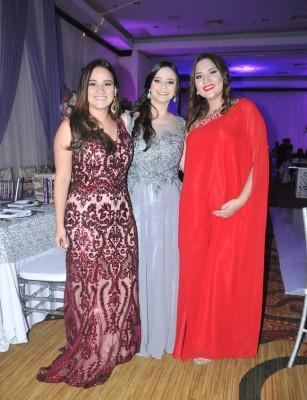 Fanny Robles, Karla Urbina y Cynthia Calix
