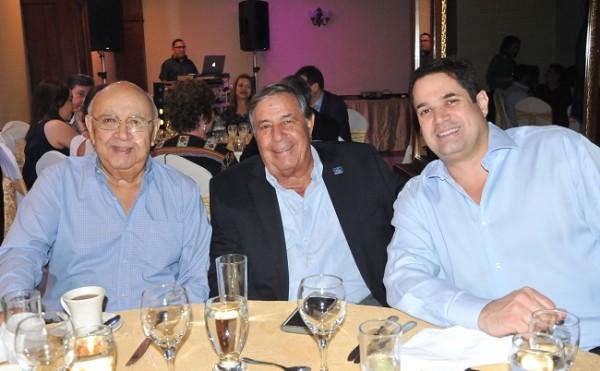 Flabio Tinoco, Juan Marinakys y Roberto Matuty