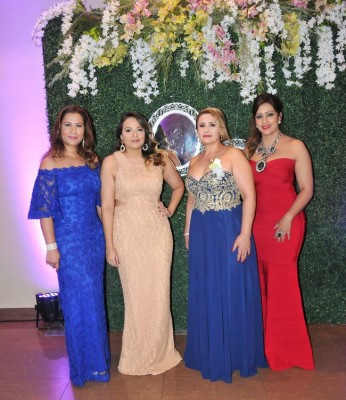 Gisela López, Nora Herrea, Sandra Isabel Perdomo y Tiffany Murray