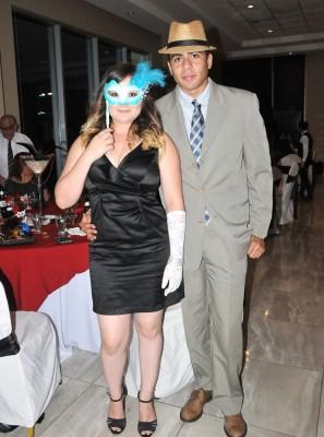 Gloria Castellanos y Gabriel Pérez
