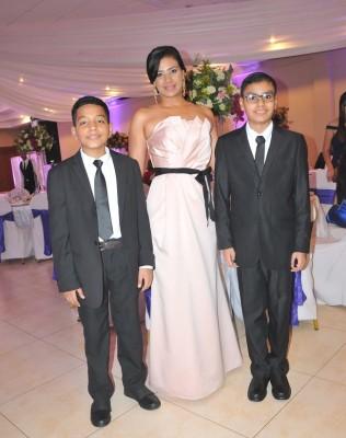 Hansel Altamirano, Ericka Mendieta y Sebastian Rodríguez