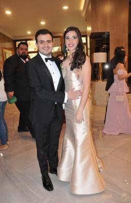 Jackie Dieck de Zummar y su esposo José Zummar