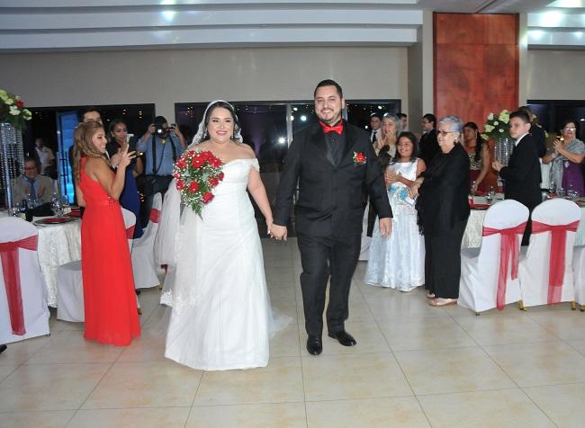 La boda de Johana y Taret…una promesa segura de amor