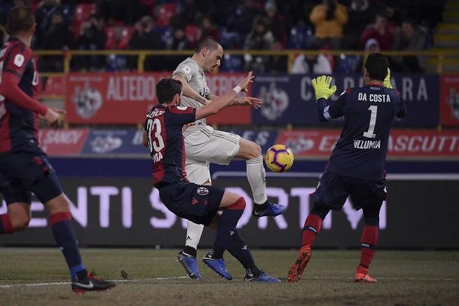 La Juventus se impone 2-0 al Bolonia y avanza a cuartos de final de la Copa Italia