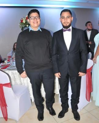 Kevin Lizardo y GianCarlo Hidalgo