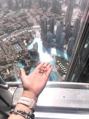 La complicidad de los novios con Farah La Revista fue tal que apuestan por compartir con nuestros seguidores las imágenes más recientes de su luna de miel en Dubái.