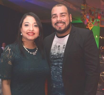 Linda Rovelo y Víctor Toledo