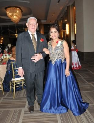 Los padres de la novia, Francisco Doblado y Mercedes Chávez