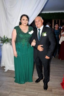 Los padres de la novia, Nathalie García de Portillo y Óscar Portillo