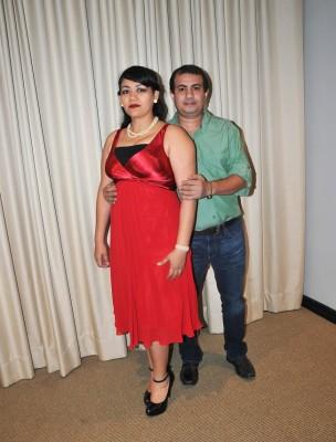 Los testigos de boda, Damaris Coto y Mario Guevara