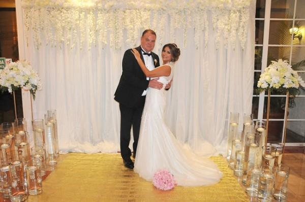 Luego de 5 años de conocerse, Morris y Julissa se unieron en matrimonio