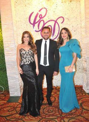 María Fernanda Carrillo, Herick Lamas y Andrea Argueta