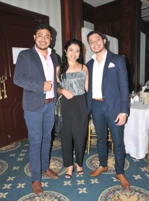 Mario Romero, Fabiola Romero y Jasson Romero
