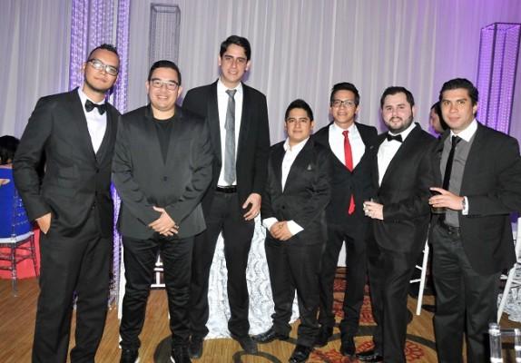 Marvin Figueroa, Branly Venegas, Héctor Pineda, Diego Orellana, Miguel Vargas, Héctor López y Bryan Midence