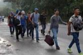 Nueva caravana: Refuerzan las medidas de control migratorio en la frontera de Agua Caliente
