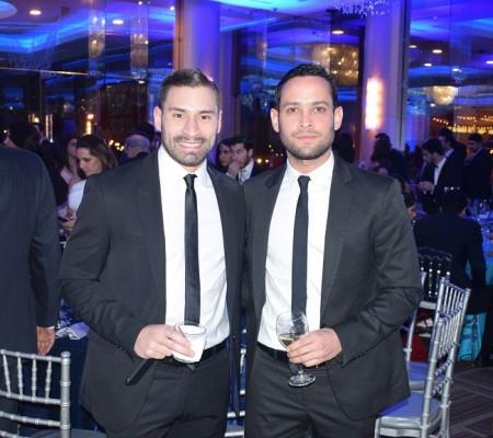Miguel Larach y Kervin García