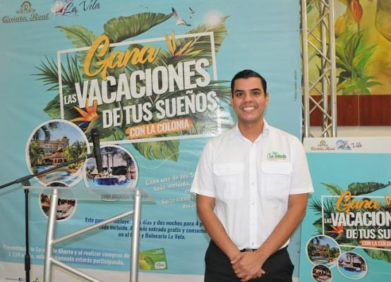 Miguel Vargas, coordinador de Mercadeo de supermercados La Colonia en la zona norte
