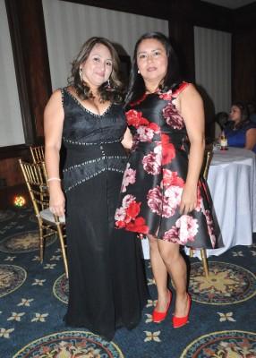 Mirna Gonzáles y Nancy Argueta