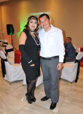 Nancy Figueroa y Juan Carlos Dubón